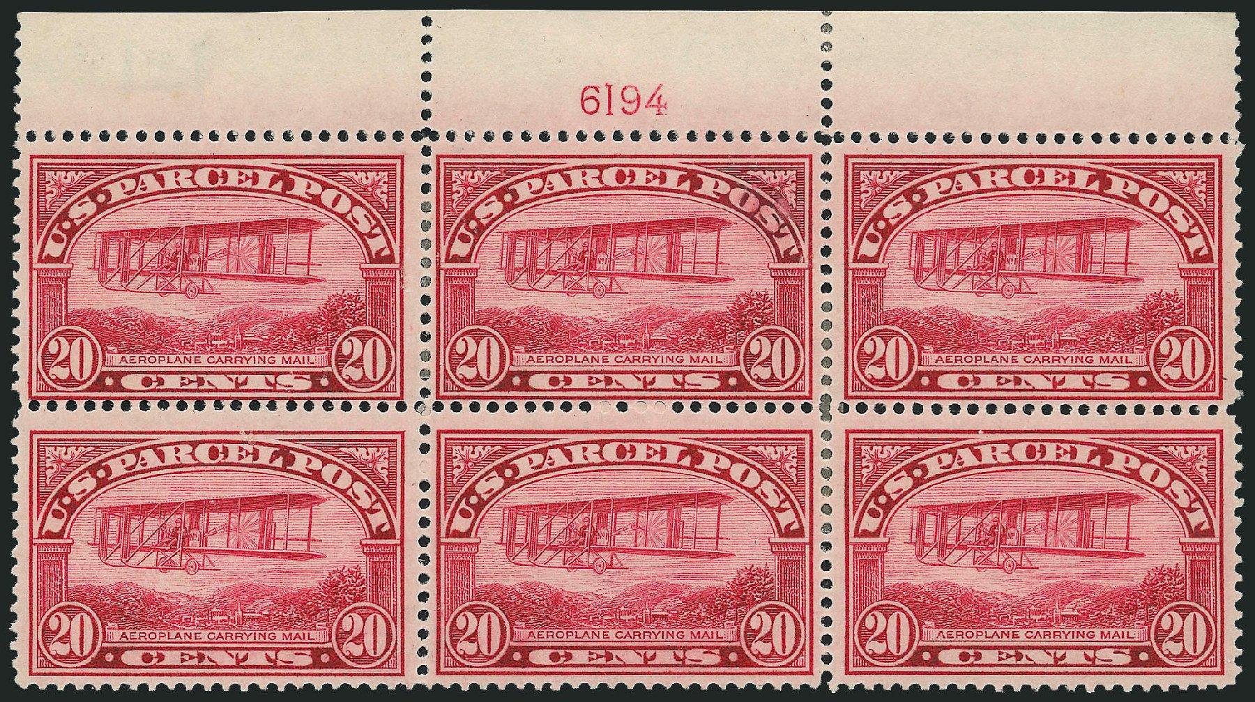 Price of US Stamps Scott Catalog #Q8: 1913 20c Parcel Post. Robert Siegel Auction Galleries, Dec 2014, Sale 1090, Lot 1701