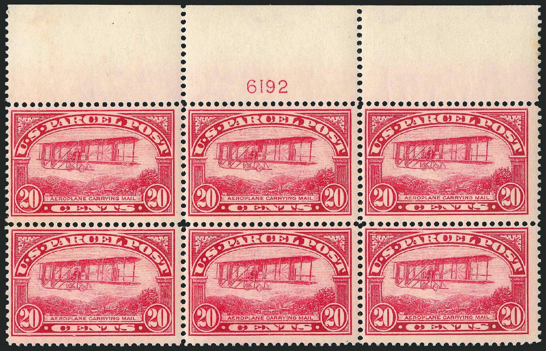 Prices of US Stamps Scott #Q8 - 20c 1913 Parcel Post. Robert Siegel Auction Galleries, Apr 2015, Sale 1096, Lot 951