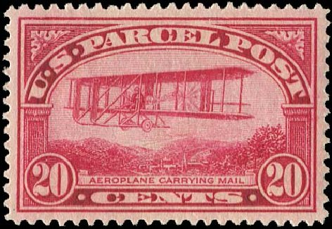 Costs of US Stamps Scott Q8: 1913 20c Parcel Post. Regency-Superior, Jan 2015, Sale 109, Lot 1594