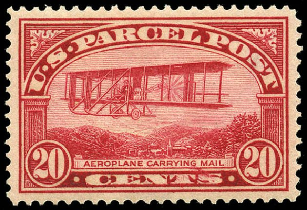 Costs of US Stamps Scott Catalog #Q8: 1913 20c Parcel Post. Matthew Bennett International, May 2014, Sale 350, Lot 713