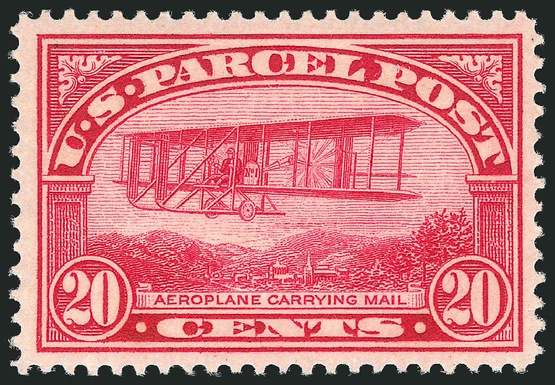 US Stamps Price Scott Catalog Q8 - 1913 20c Parcel Post. Robert Siegel Auction Galleries, Nov 2013, Sale 1061, Lot 4226
