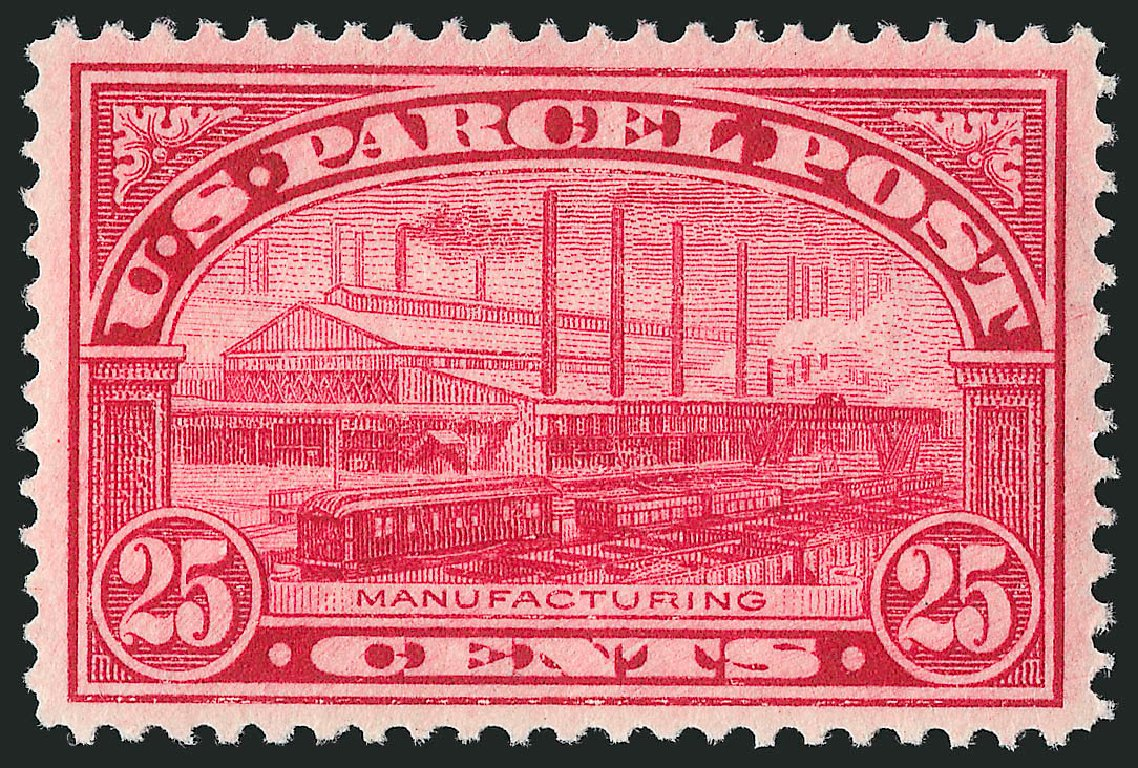 Price of US Stamps Scott # Q9: 1913 25c Parcel Post. Robert Siegel Auction Galleries, Mar 2014, Sale 1067, Lot 1742