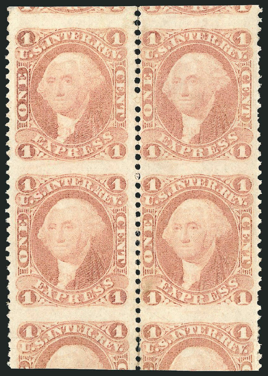 Prices of US Stamps Scott # R1: 1862 1c Revenue Express. Robert Siegel Auction Galleries, Dec 2014, Sale 1089, Lot 387