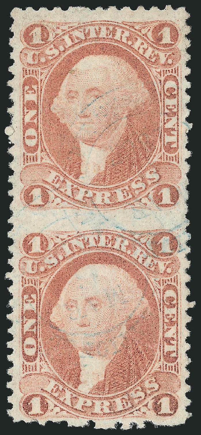 US Stamps Prices Scott # R1: 1862 1c Revenue Express. Robert Siegel Auction Galleries, Dec 2014, Sale 1089, Lot 300