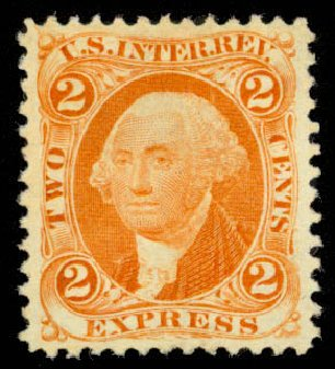 Cost of US Stamps Scott Catalog # R10 - 1862 2c Revenue Express. Daniel Kelleher Auctions, Apr 2013, Sale 636, Lot 636