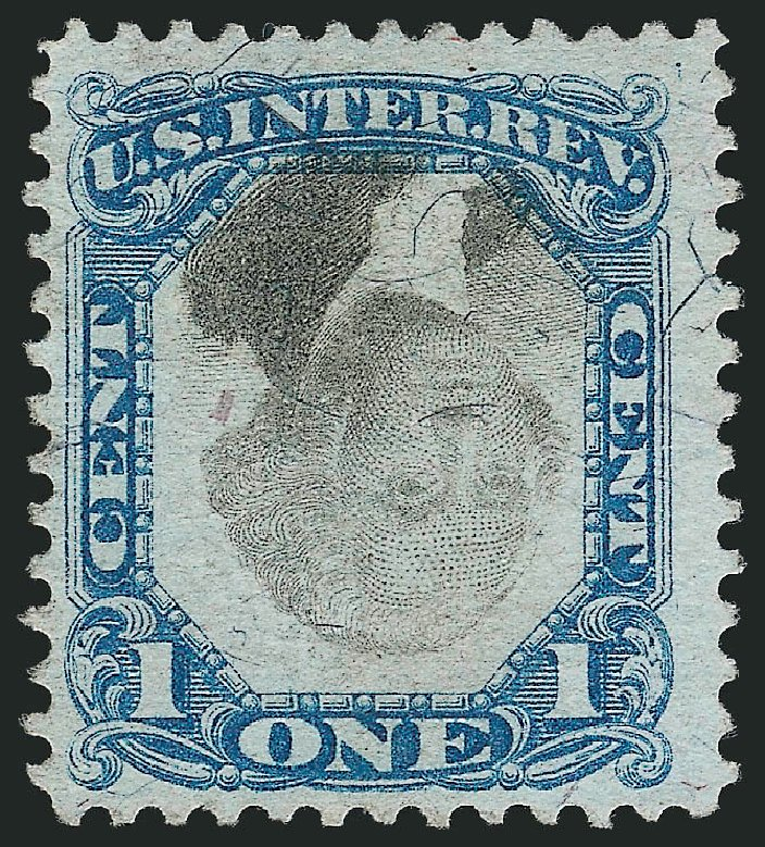 Cost of US Stamp Scott Catalog R103 - 1c 1871 Revenue Documentary . Robert Siegel Auction Galleries, Mar 2014, Sale 1066, Lot 90