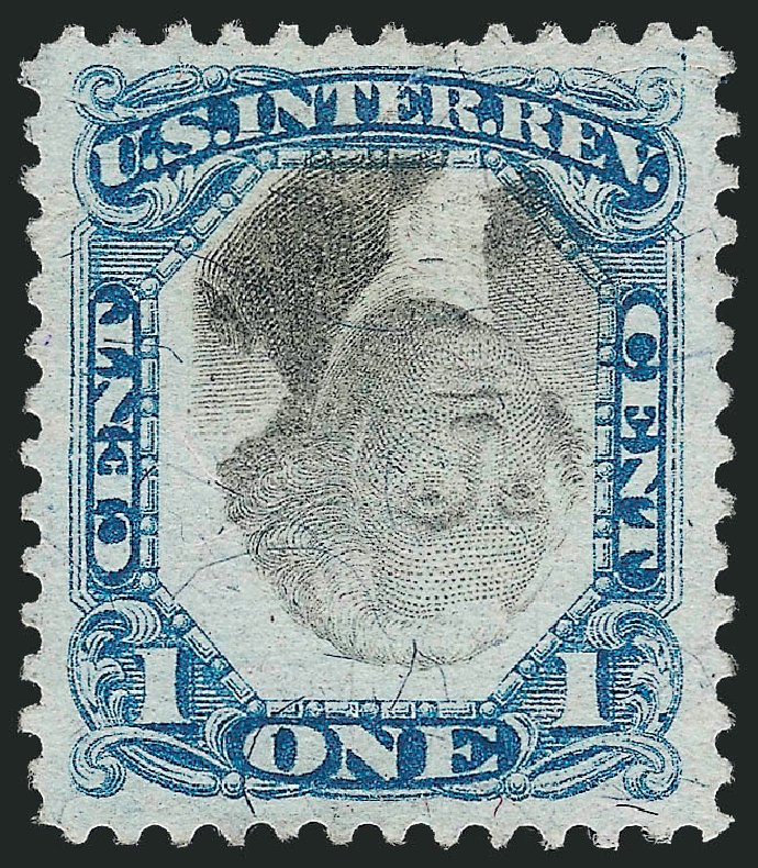 US Stamps Price Scott Cat. #R103 - 1c 1871 Revenue Documentary . Robert Siegel Auction Galleries, Nov 2013, Sale 1061, Lot 4304