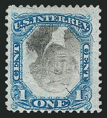 US Stamps Value Scott Cat. R103: 1c 1871 Revenue Documentary . Robert Siegel Auction Galleries, Mar 2011, Sale 1007, Lot 3116