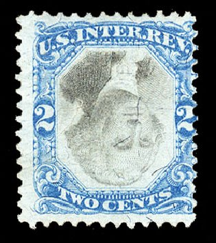 Price of US Stamp Scott Cat. # R104 - 2c 1871 Revenue Documentary . Cherrystone Auctions, Oct 2012, Sale 201210, Lot 197