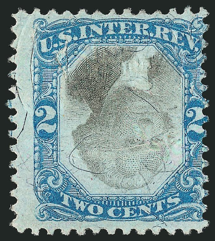 Price of US Stamp Scott Catalog R104 - 2c 1871 Revenue Documentary . Robert Siegel Auction Galleries, Dec 2014, Sale 1089, Lot 477