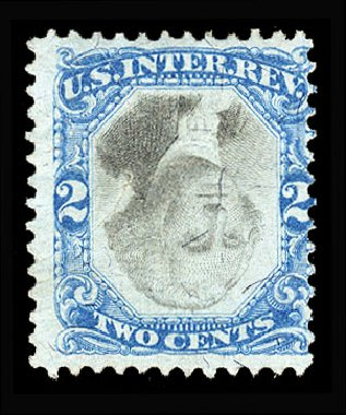 Costs of US Stamps Scott # R104 - 2c 1871 Revenue Documentary . Cherrystone Auctions, Jan 2015, Sale 201501, Lot 218