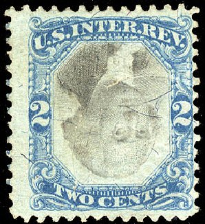 Price of US Stamp Scott Cat. R104: 1871 2c Revenue Documentary . Cherrystone Auctions, Apr 2010, Sale 201004, Lot 336