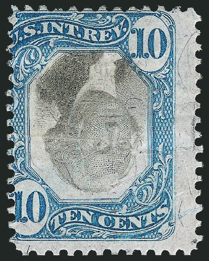 US Stamps Prices Scott Catalogue # R109 - 10c 1871 Revenue Documentary . Robert Siegel Auction Galleries, Dec 2012, Sale 1037, Lot 2399