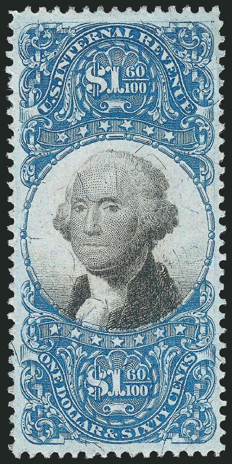 US Stamps Price Scott Cat. # R121 - 1871 US$1.60 Revenue Documentary . Robert Siegel Auction Galleries, Nov 2011, Sale 1015, Lot 82