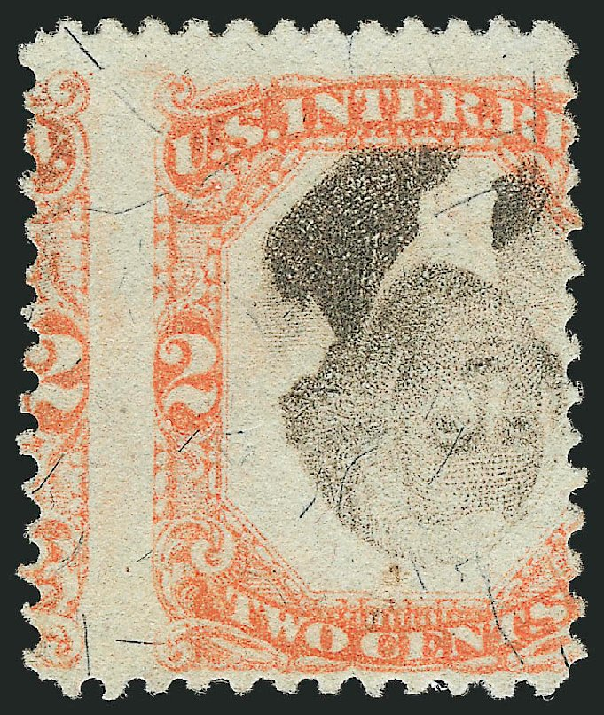 Costs of US Stamp Scott # R135 - 2c 1872 Revenue Documentary . Robert Siegel Auction Galleries, Mar 2014, Sale 1066, Lot 98