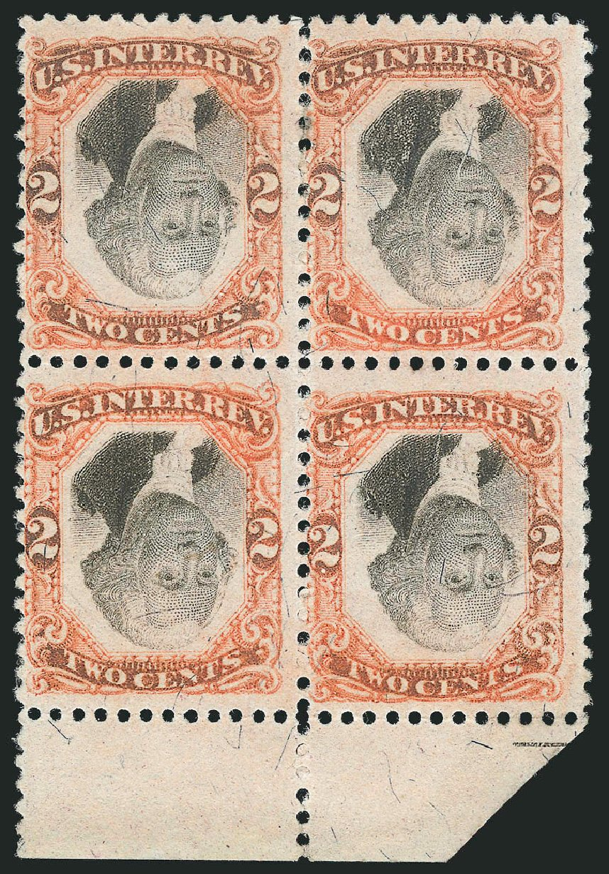 US Stamp Prices Scott Catalog #R135: 2c 1872 Revenue Documentary . Robert Siegel Auction Galleries, Jun 2015, Sale 1106, Lot 3172