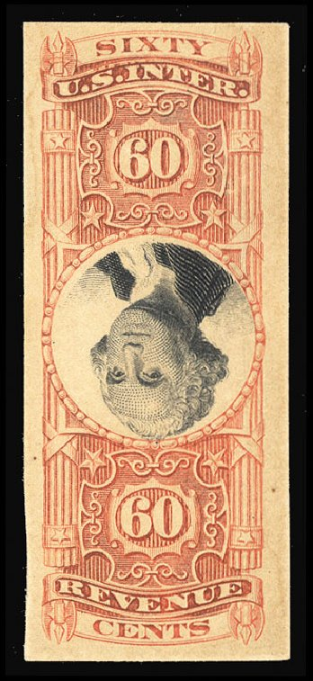 Costs of US Stamps Scott Cat. #R142: 60c 1872 Revenue Documentary . Cherrystone Auctions, Jun 2014, Sale 201406, Lot 137