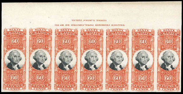 Price of US Stamp Scott Cat. #R142: 60c 1872 Revenue Documentary . Matthew Bennett International, Mar 2011, Sale 337, Lot 3294