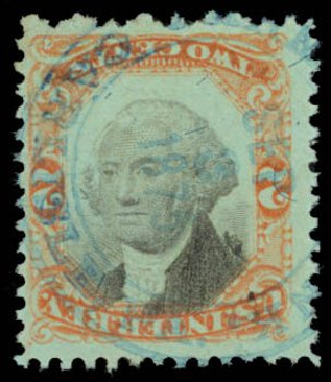 Values of US Stamps Scott Catalog # R151: 2c 1874 Revenue Documentary . Daniel Kelleher Auctions, May 2015, Sale 665, Lot 194