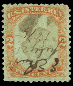 Costs of US Stamps Scott # R151 - 2c 1874 Revenue Documentary . Daniel Kelleher Auctions, Aug 2015, Sale 672, Lot 3085
