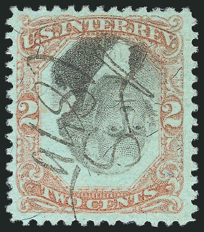 Prices of US Stamps Scott Catalogue R151: 1874 2c Revenue Documentary . Robert Siegel Auction Galleries, Mar 2014, Sale 1066, Lot 102