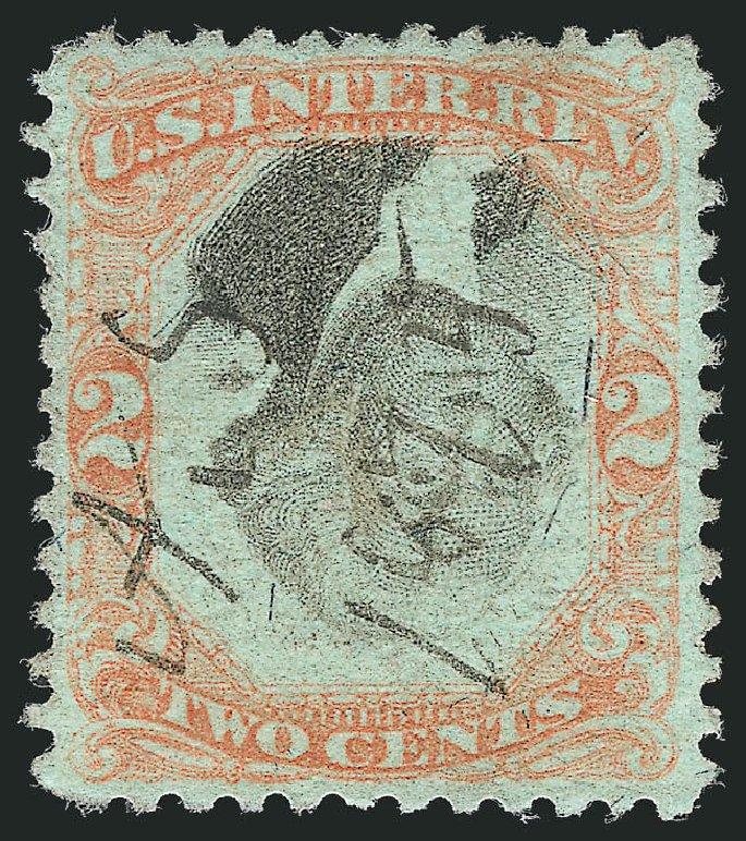 Costs of US Stamps Scott Catalogue #R151: 2c 1874 Revenue Documentary . Robert Siegel Auction Galleries, Dec 2014, Sale 1089, Lot 532