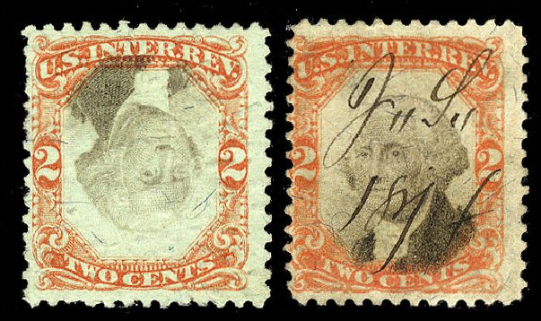 Costs of US Stamp Scott Catalog # R151: 2c 1874 Revenue Documentary . Cherrystone Auctions, Nov 2009, Sale 200911, Lot 3183
