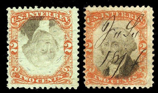 Costs of US Stamp Scott Catalog # R151: 2c 1874 Revenue Documentary . Cherrystone Auctions, Nov 2009, Sale 200911, Lot 3183