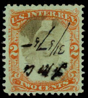 Prices of US Stamps Scott Cat. #R151: 1874 2c Revenue Documentary . Daniel Kelleher Auctions, May 2015, Sale 665, Lot 196