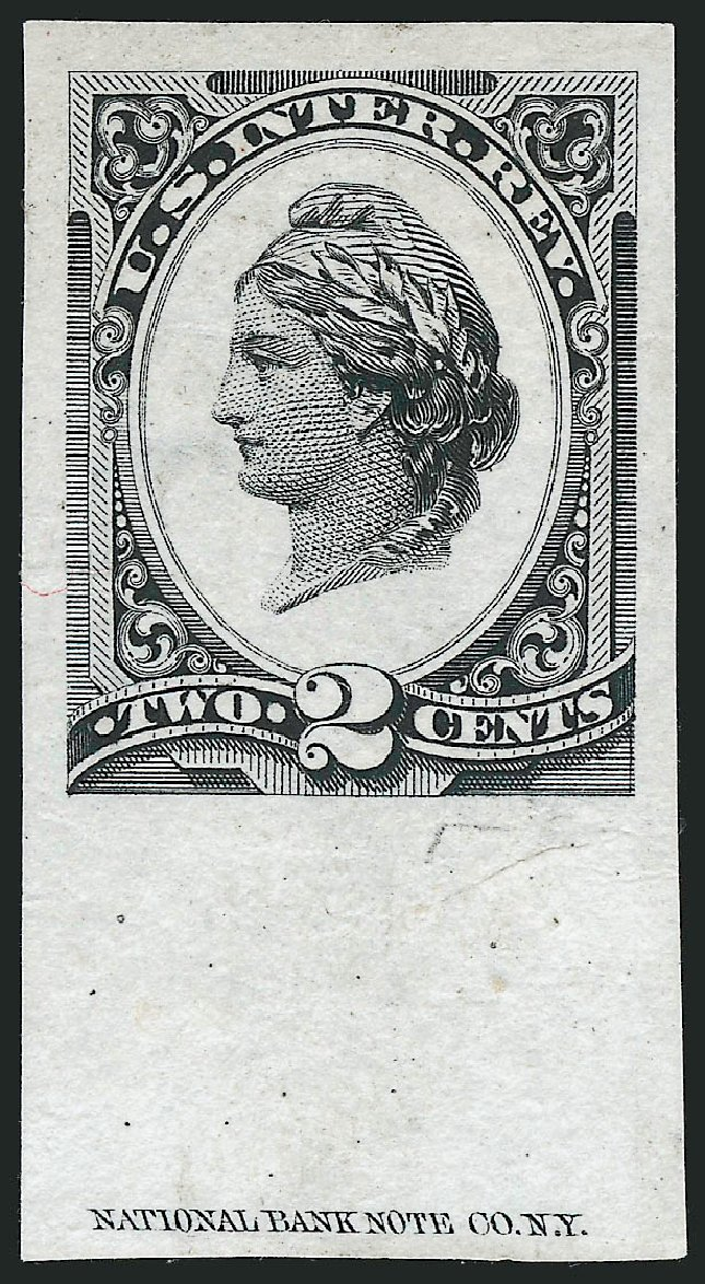 Cost of US Stamps Scott Cat. R152: 2c 1875 Revenue Liberty. Robert Siegel Auction Galleries, Mar 2012, Sale 1019, Lot 1021
