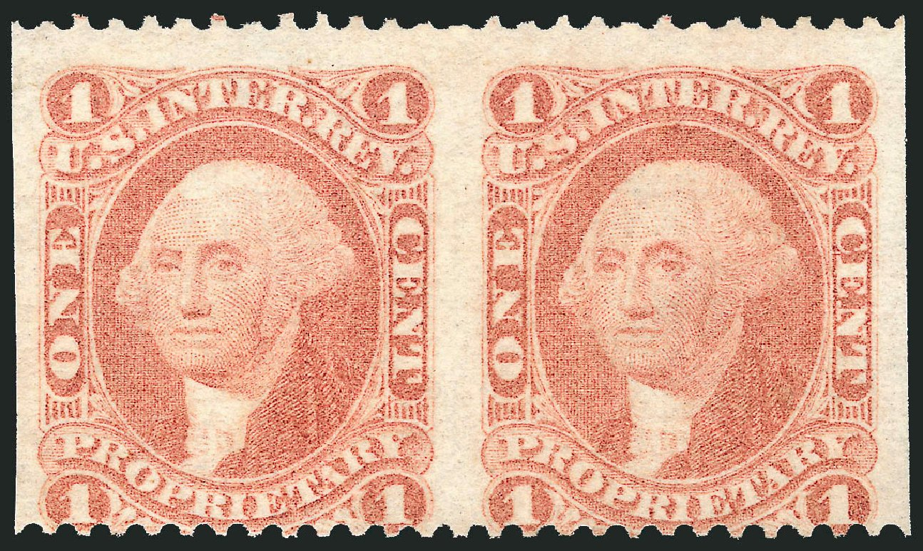US Stamps Prices Scott Catalogue #R3: 1c 1862 Revenue Proprietary. Robert Siegel Auction Galleries, Dec 2014, Sale 1089, Lot 282