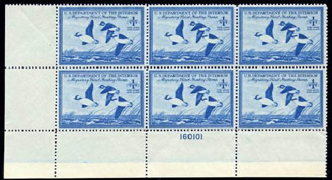 Value of US Stamps Scott Catalog # RW15: US$1.00 1948 Federal Duck Hunting. Harmer-Schau Auction Galleries, Aug 2011, Sale 90, Lot 2051