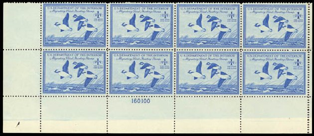 Cost of US Stamp Scott Cat. # RW15: 1948 US$1.00 Federal Duck Hunting. Daniel Kelleher Auctions, Oct 2012, Sale 632, Lot 1633