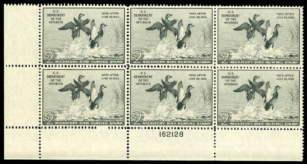 US Stamp Value Scott RW18: US$2.00 1951 Federal Duck Hunting. Matthew Bennett International, Dec 2008, Sale 330, Lot 2064