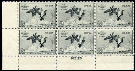 US Stamps Values Scott RW18 - 1951 US$2.00 Federal Duck Hunting. Harmer-Schau Auction Galleries, Aug 2011, Sale 90, Lot 2054