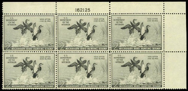 US Stamp Prices Scott # RW18: US$2.00 1951 Federal Duck Hunting. Daniel Kelleher Auctions, May 2014, Sale 653, Lot 2506