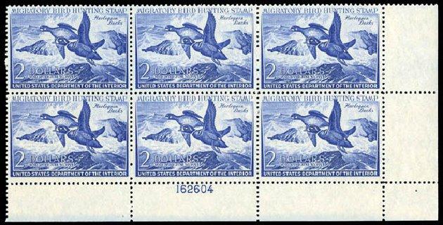 US Stamp Prices Scott Catalogue # RW19 - 1952 US$2.00 Federal Duck Hunting. Matthew Bennett International, Dec 2008, Sale 330, Lot 2066