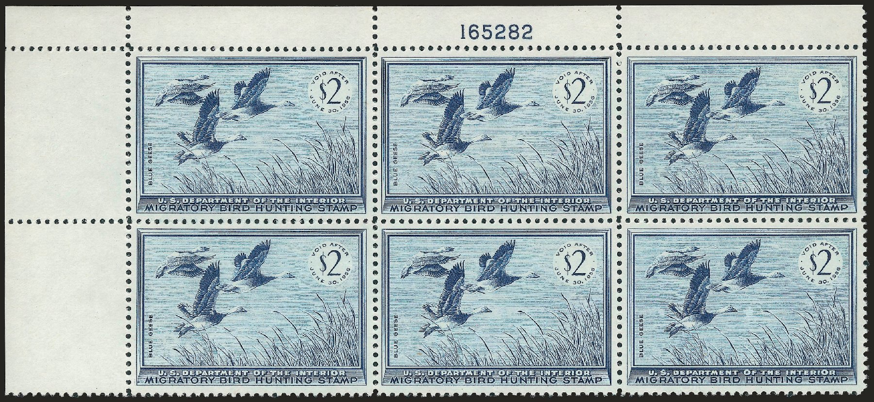 Price of US Stamp Scott Cat. # RW22: 1955 US$2.00 Federal Duck Hunting. Robert Siegel Auction Galleries, Apr 2010, Sale 984, Lot 1235
