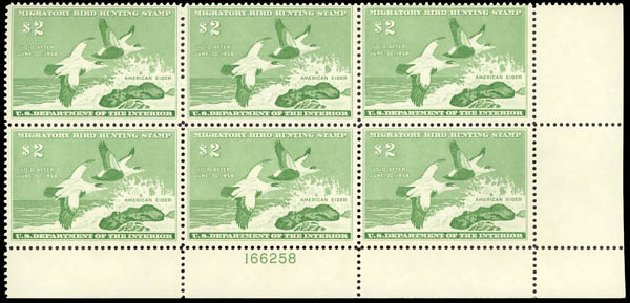 Costs of US Stamps Scott Cat. #RW24 - 1957 US$2.00 Federal Duck Hunting. Daniel Kelleher Auctions, May 2015, Sale 669, Lot 3597