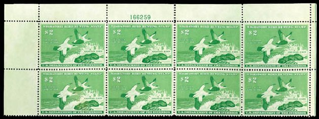 US Stamp Value Scott RW24 - 1957 US$2.00 Federal Duck Hunting. Matthew Bennett International, Dec 2008, Sale 330, Lot 2078
