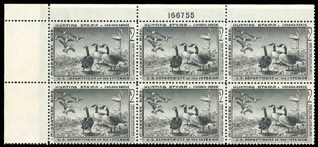 US Stamps Price Scott Cat. #RW25: 1958 US$2.00 Federal Duck Hunting. Matthew Bennett International, Dec 2008, Sale 330, Lot 2081