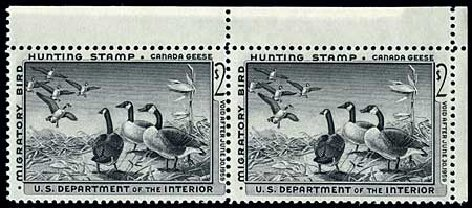 US Stamps Prices Scott # RW25 - US$2.00 1958 Federal Duck Hunting. Harmer-Schau Auction Galleries, Apr 2010, Sale 85, Lot 356