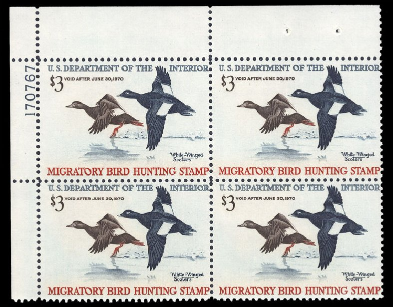 Prices of US Stamp Scott Catalog RW36 - 1969 US$3.00 Federal Duck Hunting. Cherrystone Auctions, Jun 2010, Sale 201006, Lot 58