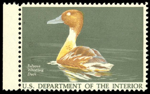 Prices of US Stamp Scott Catalogue #RW53 - US$7.50 1986 Federal Duck Hunting. Daniel Kelleher Auctions, Dec 2014, Sale 661, Lot 490