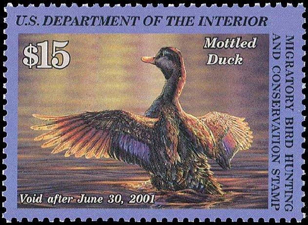 US Stamp Prices Scott Catalog #RW67 - US$15.00 2000 Federal Duck Hunting. Regency-Superior, Aug 2015, Sale 112, Lot 1662